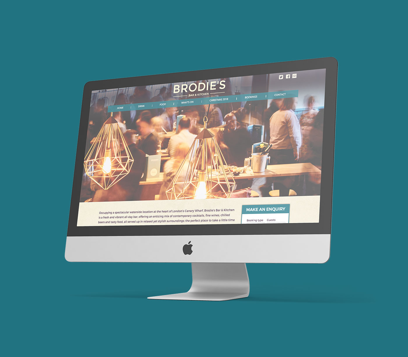 brodie's | web design - Brodies Website Mockup - Brodie's | Web Design